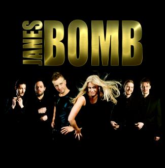 Boka coverbandet Showbandet Janes Bomb till galamiddagen och fest