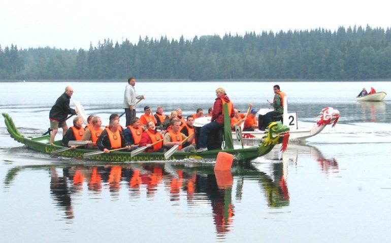 Drakbåt aktivitet tävling Eventkraft