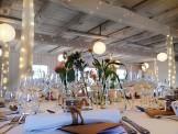 Dekoration & dukning - bröllopsfest