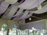 Taktyger och väggdrapering för bröllop - Eventkraft