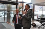 Invigning av Nybergs Bil - bilsalong o servicecenter