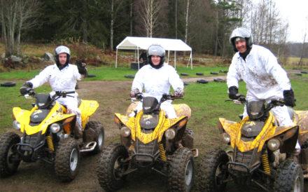 Eventkraft - ATV-körning hos Magnus Samuelsson