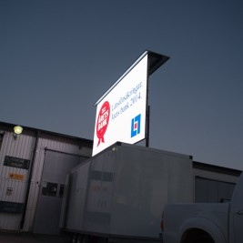 Mobila LED-trailers