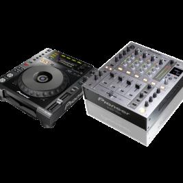 DJ-PAKET PIONEER (usb) 2 x CDJ850 + mixer
