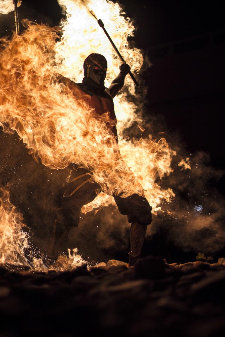Boka eld-show med Ignited hos Eventkraft