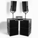 Hyr eller köp ljudsystem PA högtalre d&b V7p och V10p samt V-Gsub
