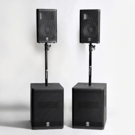 PA-/HÖGTALARSYSTEM Yamaha DXR + DXS