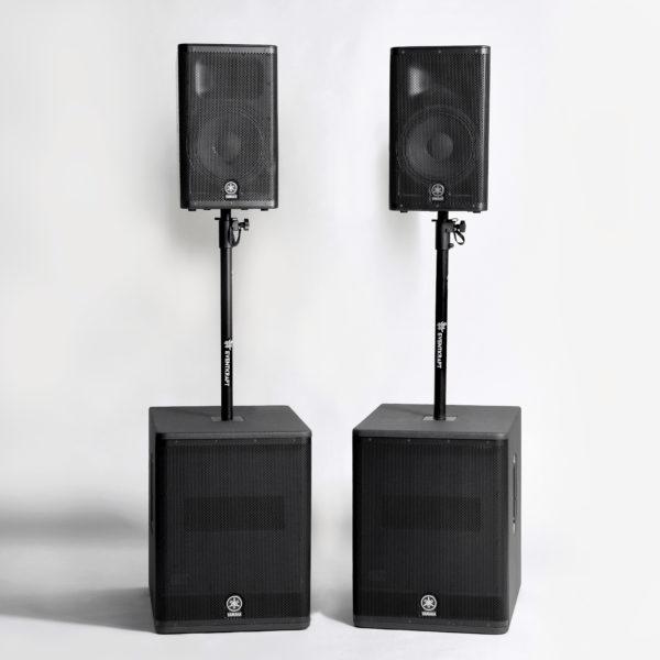 HuvudbildHÖGTALARSYSTEM-Yamaha-DXR- DXS