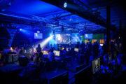 Scen med ljud o ljus på event lan gaming party