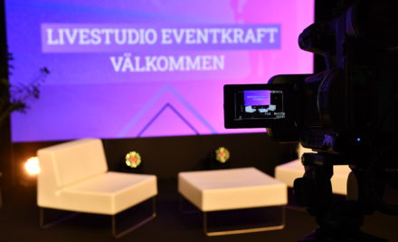 Live studio streaming on line Eventkraft