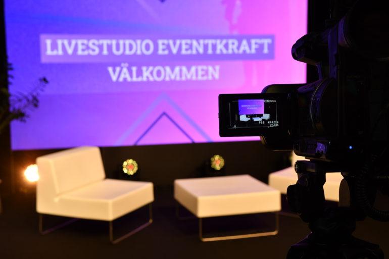 Live studio streaming on line Eventkraft