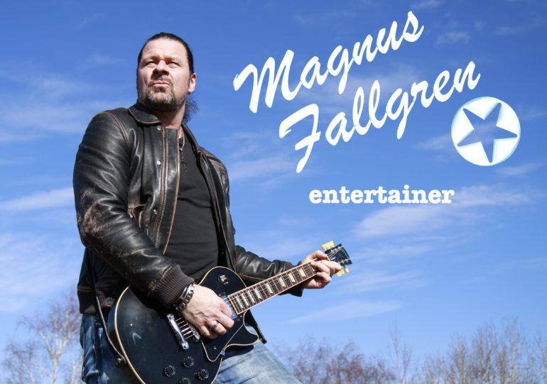 Magnus Fallgren trubadur enmansband entertainer Eventkraft
